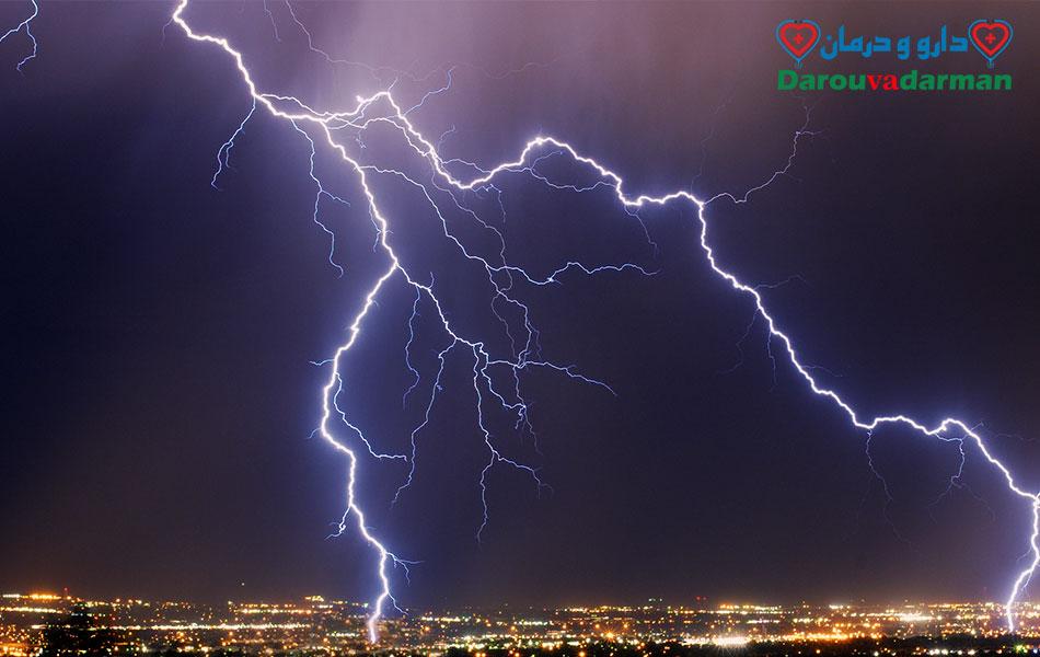 ترس از رعد و برق یا آستروفوبیا چیست؟
